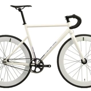Bicicleta Santafixie Raval Alb - Fixie Single Speed1