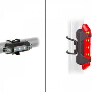 Set Lumini Flash cu Acumulator AUTHOR A-Stake Mini USB
